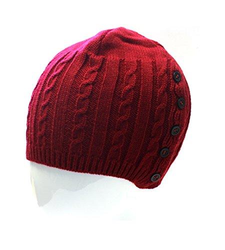 En S De D'hiver Pour Petit Garçon Rouge Chaud Tricot Ski Bonnet Fille Enfant Enfants 7xcollection Gestrick PgFnq61wBx