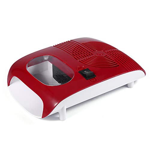 Wandisy Nail Art Dryer, Hot/Cold Air Nail Polish Dryer Blower with Fan Manicure Tools for Drying Nail Gel Polish