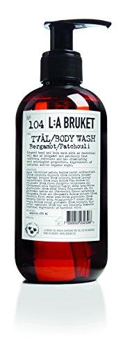 No. 104 Bergamot/Patchouli Soap 250 ml by L:A Bruket