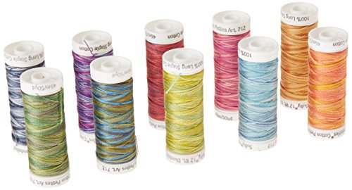 - Sulky 712-31 Westport Petites Collection, Cotton ,12 Weight (10 Pieces Per Pack), Multicolor