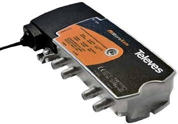 Televes 534702 - Amplificador microkom matv 1e/1s 20-24db ...