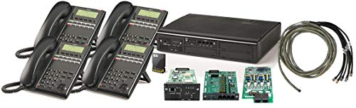 - NEC SL2100 Digital Quick Start Kit with 4 Port Voicemail and 4 Digital 12 Button Phones - NEC-BE117449