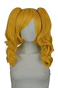 EpicCosplay Rhea Autumn Gold Pigtail Wig Set (02C1AG2)