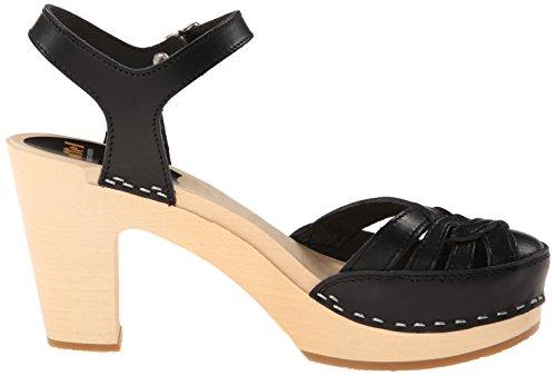 Swedish Hasbeens Women's Agneta Platform Sandal Black browse online sale cheap online buy cheap nicekicks sale from china zd3S71