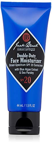 Organic Travel Kit 1.5 Oz Organics - Jack Black Double-Duty Face Moisturizer SPF 20, 1.5 fl. oz.