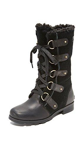 SOREL Women's Emelie Lace Boots Black