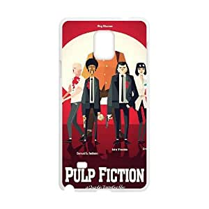 Pulp Fiction Samsung Galaxy Note 4 White Cell Phone Case TAL857518 Cell Phone Case Sports