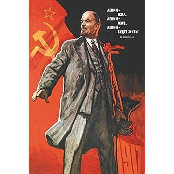Pyramid America Lenin Forever Soviet Propaganda Cool Wall Decor Art Print Poster 24x36