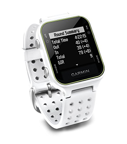 Garmin Approach S20 Golf Watch – White Renewed