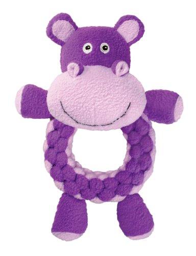 KONG Round Braidz Hippo Dog Toy, Large, My Pet Supplies