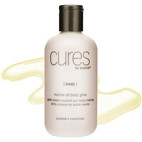Cures by Avance Marine Oil Body Glow 8 fl oz.