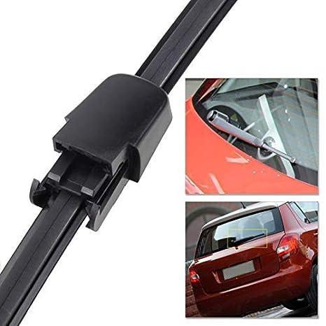 DDV- US - 1 escobilla para limpiaparabrisas trasero de color negro para VW Polo 2009 2012 2013 Tiguan 2008 2009 2010 2011 2012: Amazon.es: Bricolaje y ...
