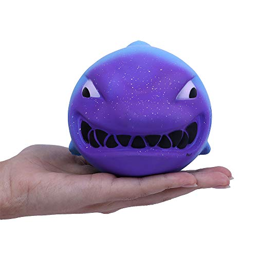 Squishy Toys,Hot Galaxy Shark Stress Reliever Scented Slow Rising Kids Toy Squeeze Toys -