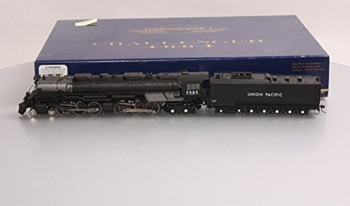 HO 4-6-6-4 w/DCC & Sound Oil Tender, UP #3985 by Athearn -  5239805