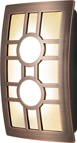 GE LED CoverLite, Oil Rubbed Bronze Finish, Plug-In, Soft White, Auto Night Light, Light Sensing, Dusk to Dawn Sensor, Energy-Efficient, Ideal for Hallways, Kitchens, Bathrooms, Bedrooms, Offices, 112