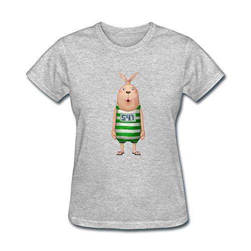 Dotion Women's Usavich Funny Design T Shirt