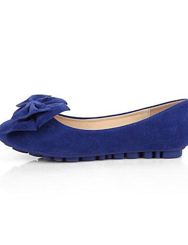 cerrado casual de Punta eu40 us9 ante blue disponibles Redonda más talón vestido Flats plano cn41 uk7 Toe Mocasín colores PDX mujer zapatos tipo de Zxqw11zPAE