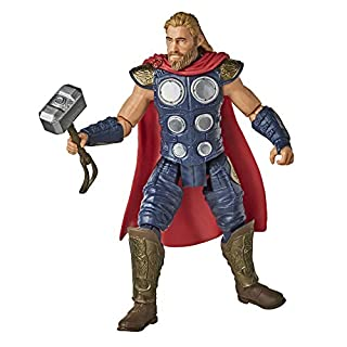 Hasbro Marvel Gamerverse 6-inch Thor Action Figure Toy, Iconic Armor Skin, Ages 4 and Up