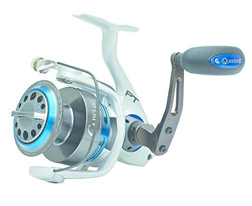 Quantum CSP50PTSE Cabo Spin Saltwater Reel, Blue and Silver (Quantum Magnetic Reel)