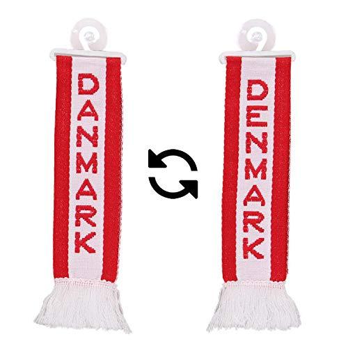TRUCK DUCK Camion Voiture Mini /écharpe de voiture Motif drapeau du Danemark Denmark
