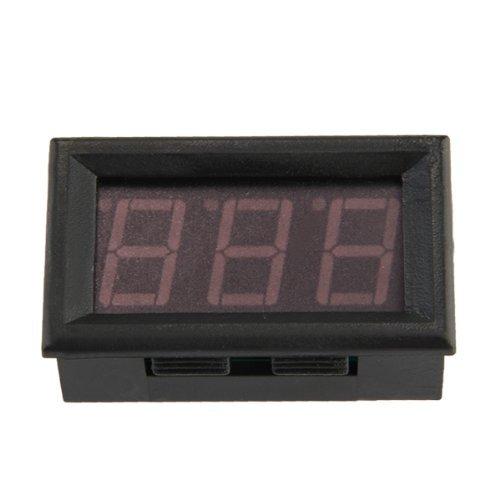 Ammeter - TOOGOO(R)Mini ammeter digital ammeter led Panel meter 0-50 LED red SHOMAGT22213
