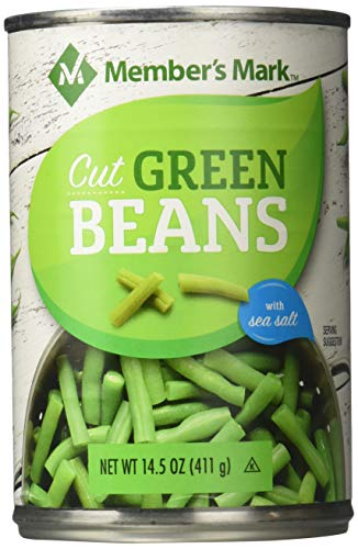 Member's Mark Green Beans 12 Cans NET WT 10.9 LB, 10.9 lb