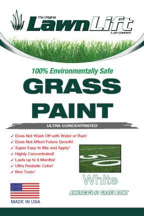 Lawnlift Ultra Concentrated (White) Grass Paint 32oz. = 2.25 Gallons of Product.