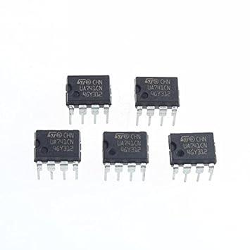 tianxiaw- ua741cn Amplificador operacional Dip-8 (5pcs)