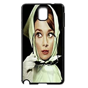 Qxhu Audrey Hepburn patterns Cell Phone Cover Case for Samsung Galaxy Note3 N9000
