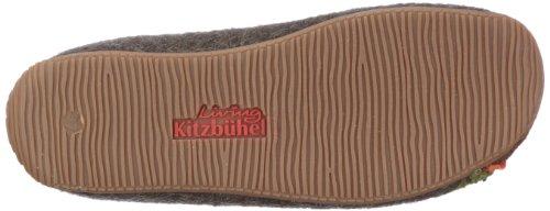 Living Kitzbühel Pantoffel Herr und Frau Hirsch 2062 Damen Pantoffel Braun (mocca 285)