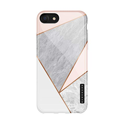 iPhone 8 & iPhone 7 Case Geometric, Akna Sili-Tastic Series High Impact Silicon Cover with Full HD+ Graphics for iPhone 8 & iPhone 7 (100928-U.S)