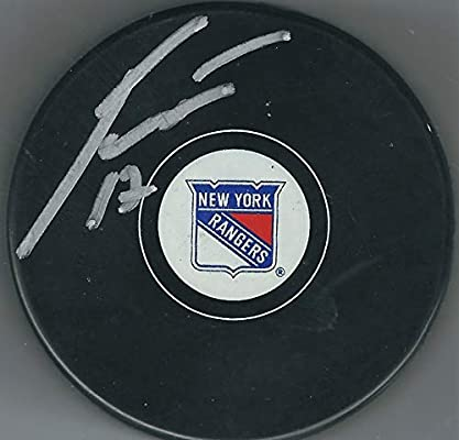 6175c50b9 Autographed Jesper Fast New York Rangers Hockey Puck at Amazon s ...