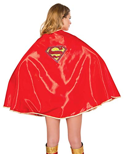 Superwoman Costumes For Women - Rubie's DC Comics Supergirl Adult Deluxe