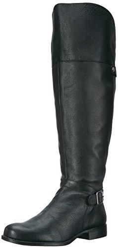 Naturalizer Women's January Wc Riding Boot, Black, 10 M US by Naturalizer
