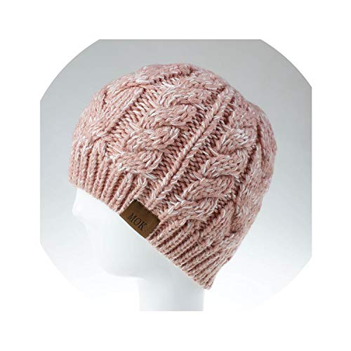 Autumn Winter Woman Beanie Hat Knit Warm Ponytail Messy Stretch Hat Winter Beanies Gorros Bonnet