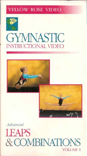 Gymnastic Instructional Video: Advanced Leaps & Combinations Volume 1 (Video and Booklet)