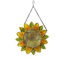 Your Hearts Delight Sunflower Bird Feeder, 10-1/2 by 11-Inch