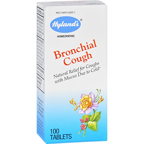 Hylands Bronchial Cough 100 Tabs