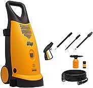 Lavadora de Alta Pressão WAP PREMIUM 2600 Indução 1900W 2400 PSI/Libras 360L/h Profissional Semi Intensivo 127