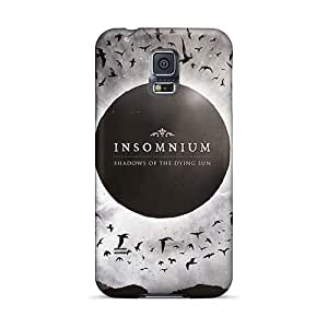 InesWeldon Samsung Galaxy S5 Anti-Scratch Hard Cell-phone Case Customized Attractive Insomnium Band Skin [lif13987BYKn]