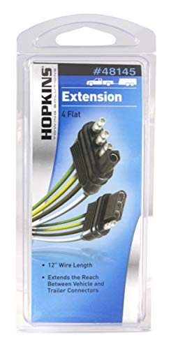 Hopkins 48145 4 Wire Flat Extension, 12'' Length by Hopkins Towing Solutions (Image #1)