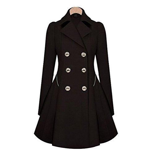 Long Sleeve Vintage Coat - 6
