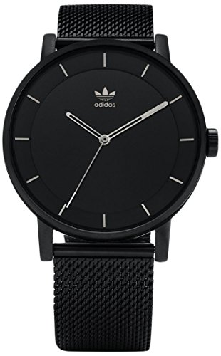 Adidas Men's Analogue Quartz Watch with Stainless Steel Strap Z04-2341-00 ()