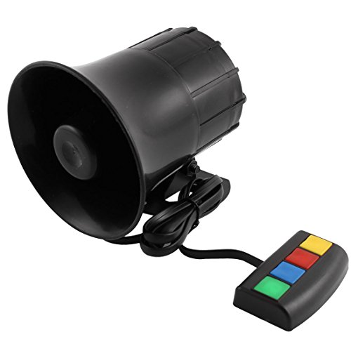 uxcell DC 12V Four Sound Electronic Musical Horn for -