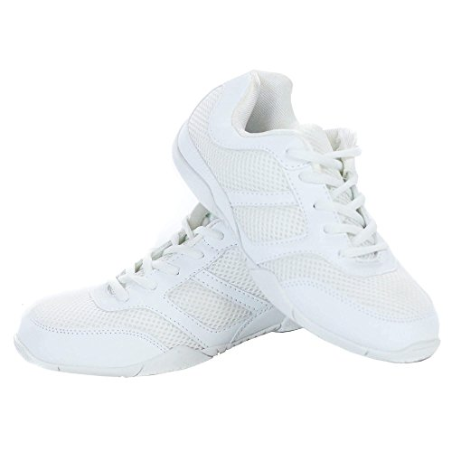 Danzuce Cheer Shoe, White, 7 M
