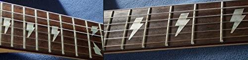 Diapas/ón marcadores Inlay adhesivo adhesivos para guitarra /& Bass/ /AC//DC Lightning Bolt