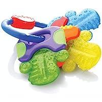 Nuby Ice Gel Teether Keys, 1 Pack Multicolor