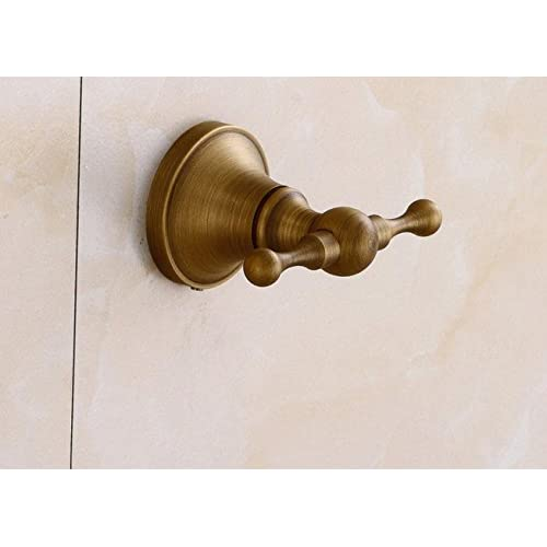 free shipping BLYC- Hook/high-grade/decoration/bathroom/metal/copper/hook/continental/home/rust/clothes/double hook