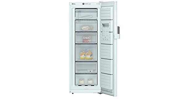 Balay 3GS8301B Independiente Vertical 198L A++ Blanco - Congelador ...