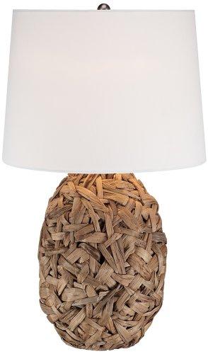 Nantucket Natural Seagrass Table Lamp ()